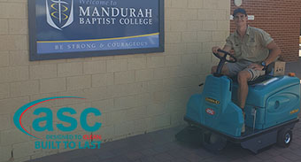 WA Schools Love the ASC Eureka M3 Sweepers