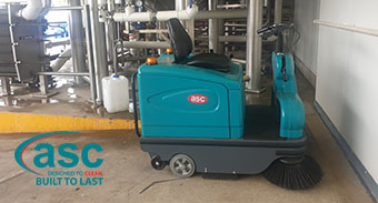 Sydney's A2 Milk invests in a ASC M2 sweeper.