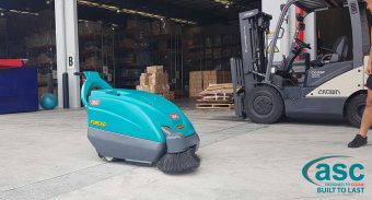 Queensland based City Beach Australia buys a ASC M1 sweeper