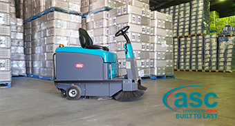 ASC Borella Eggs (NSW) buys a new ASC M3 Sweeper
