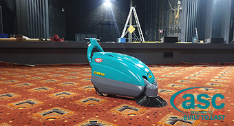 Enmore Theatre Chooses a ASC Mach 1 Carpet Sweeper