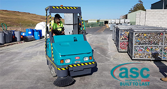 Impact Community Services QLD. & ASC M6 Sweeper