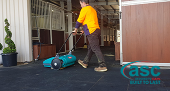 ASC MEP Cleans Up on Specialist Floor Surfaces