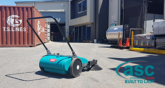 ASC'S MEP Vacuum Sweeper Solves V Resources Cleaning Issues