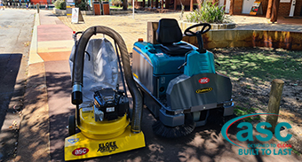 Whiteman Park Welcome ASC M3 and ASC Littervac