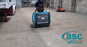 Hili Excavations Invest In A ASC Sweeping Machine