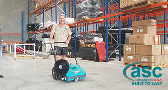 Hardkorr Qld Welcome Their ASC MEP Sweeper