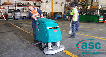Scott's Refrigerators QLD Invest In A New ASC Eureka E 81 Scrubber