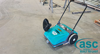 Eptec WA Sweeps Up Dust Particles