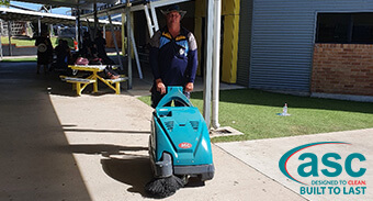 Ryan Catholic College Saves Time & Successfully Cleans Up