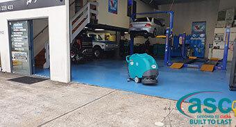 Coltech Automotive workshop Cleans Up With ASC