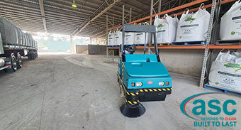 Fertpro Manufacturing Sweeping Challenge