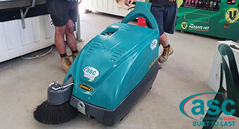 Hutchinson Builders Seeks An Industry Standard Dust Control Machine