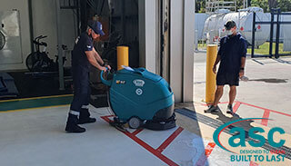 ASC E 50 Scrubber Lands In Toll Helicopters Canberra (ACT)