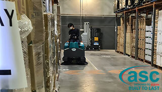 Mr Cheap Secures An ASC M3 Warehouse Equipped Sweeper